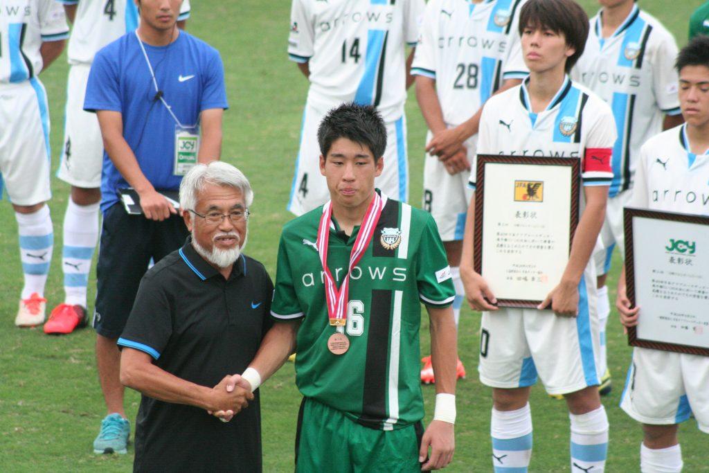 チームを救う好セーブを何度も見せた早坂勇希選手