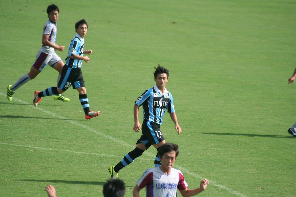 上野綜太選手、道本大飛選手