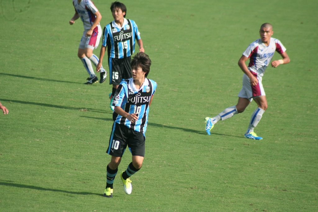 田中碧選手