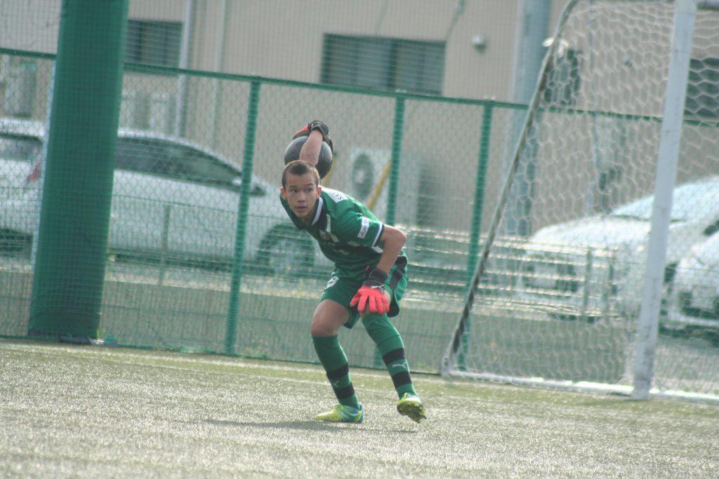 練習試合に出場した長田澪選手
