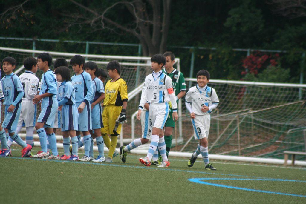 全日本少年サッカー大会県大会は準決勝
