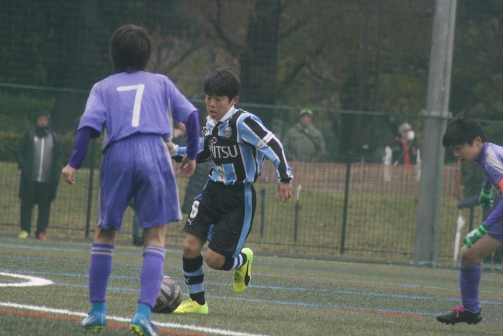 すみれ 少年 サッカー 横浜