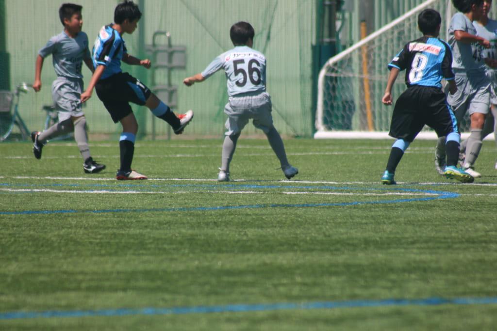 練習試合は髙橋宗杜選手が決め、1-0