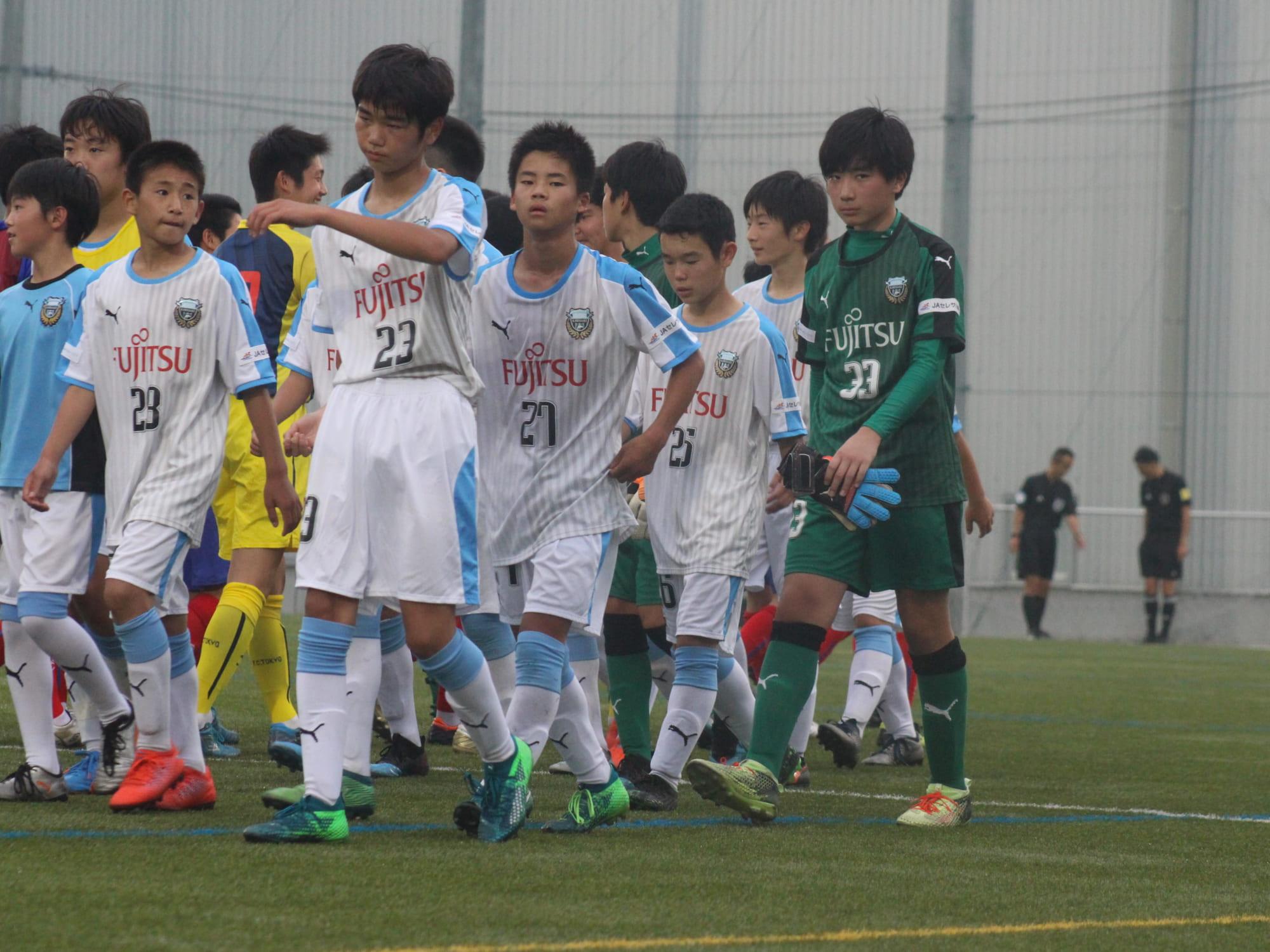 フロンターレU15 - FC東京深川 / メトロポリタンリーグ - 川崎 ...