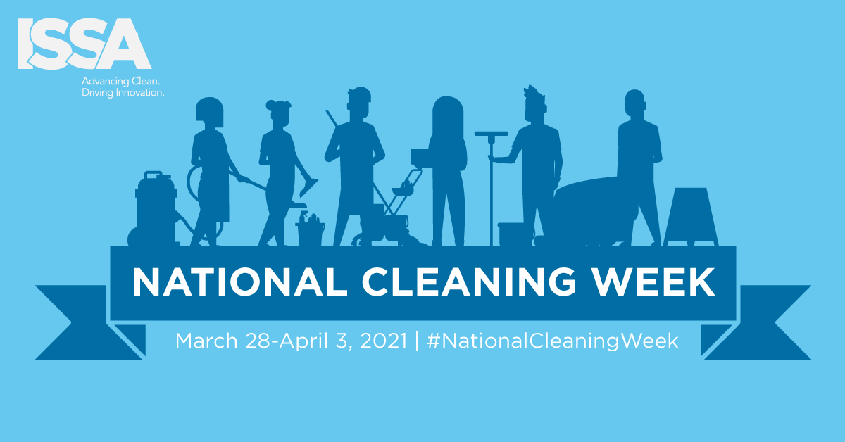 National Cleaning Week - March 28-April 3