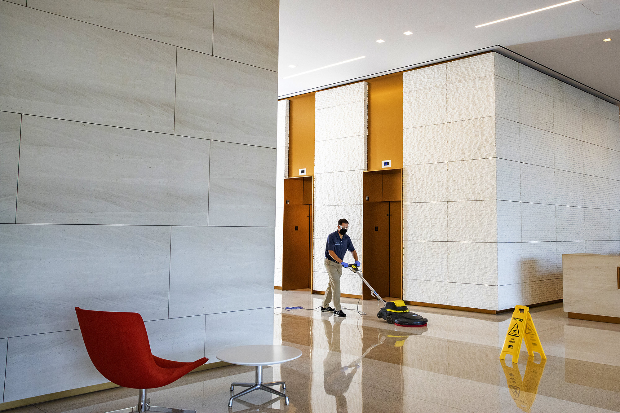 Professional janitorial, cleaning, and exterior facility management services