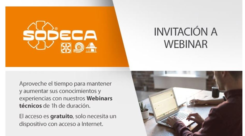 Webinars técnicos de Sodeca