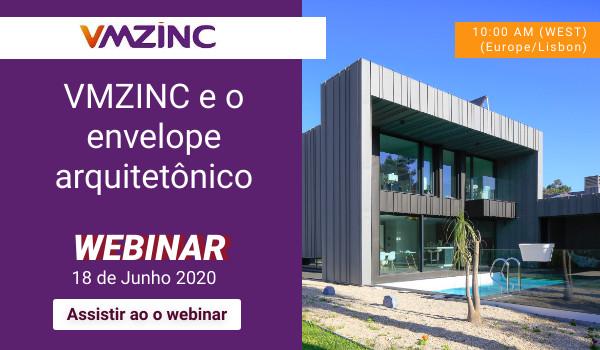 VMZINC e o envelope arquitetônico