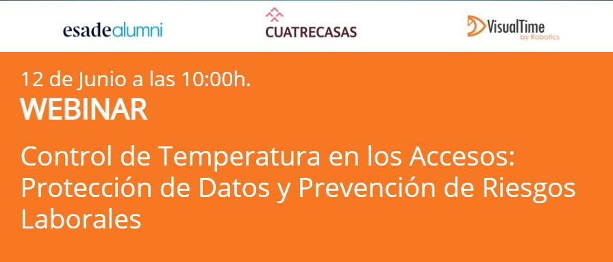 Control de Temperatura en los Accesos: Protección de Datos y Prevención de Riesgos Laborales  - webinar construcción