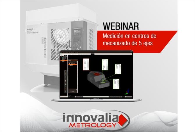 M3MH, el software de medición en centros de mecanizado de 5 ejes - webinar profesional metalindustria