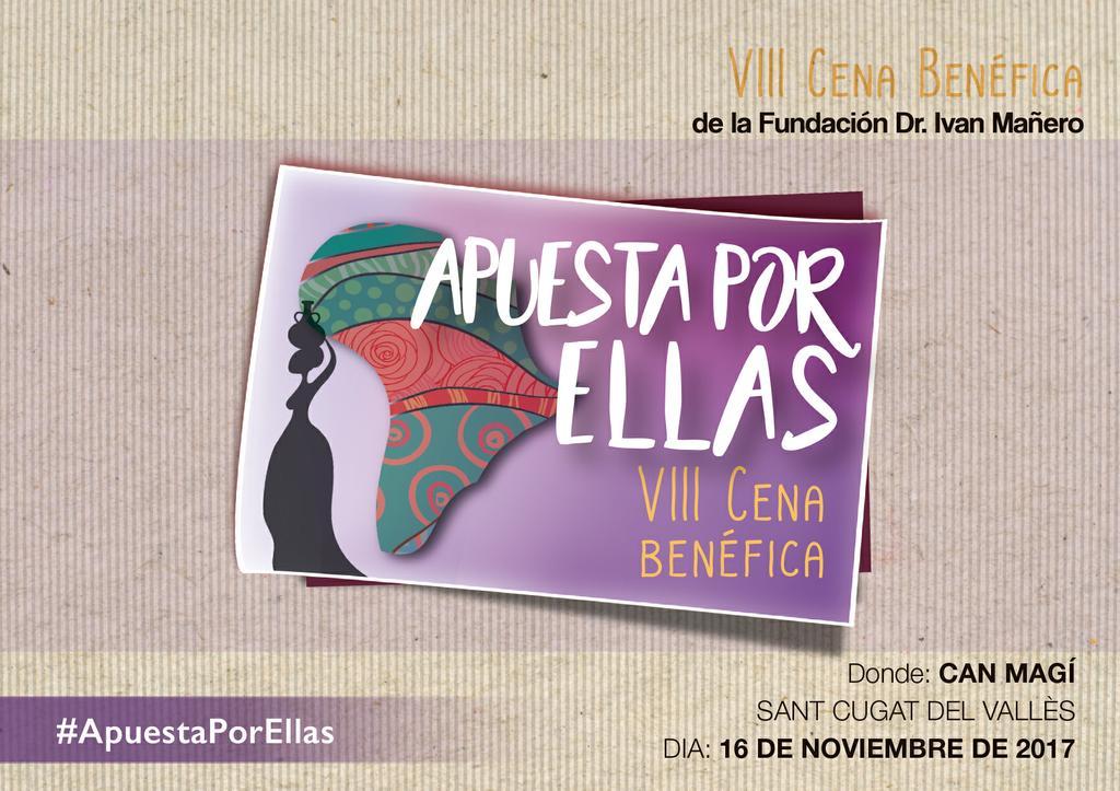 VIII Cena Benéfica Fund. Dr. Ivan Mañero