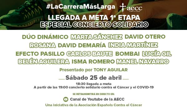 CONCIERTO CANCER Y COVID AECC