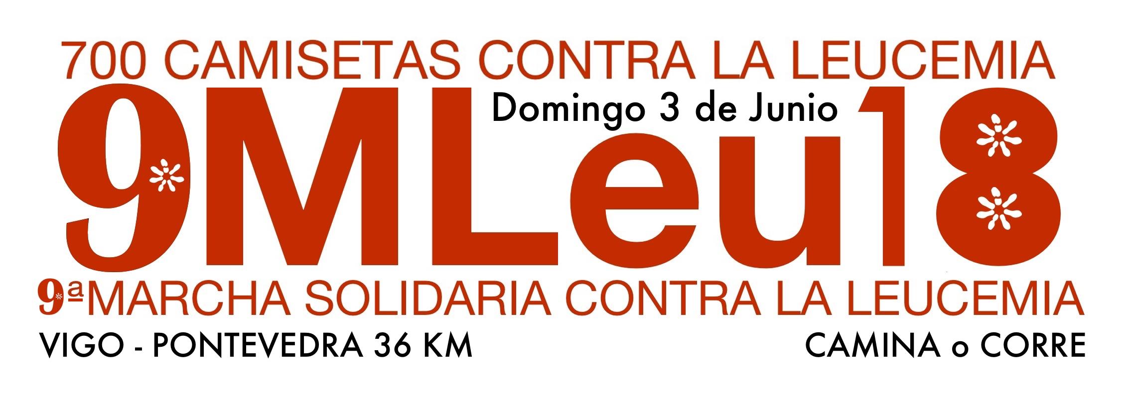 IX MARCHA SOLIDARIA 700 CAMISETAS CONTRA LA LEUCEMIA