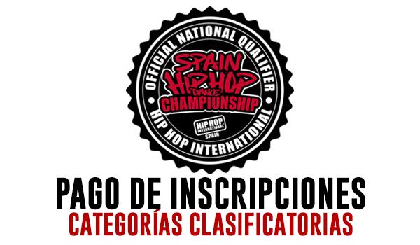 HHI SPAIN 2020 - INSCRIPCIONES CATEGORIA CLASIFICATORIA