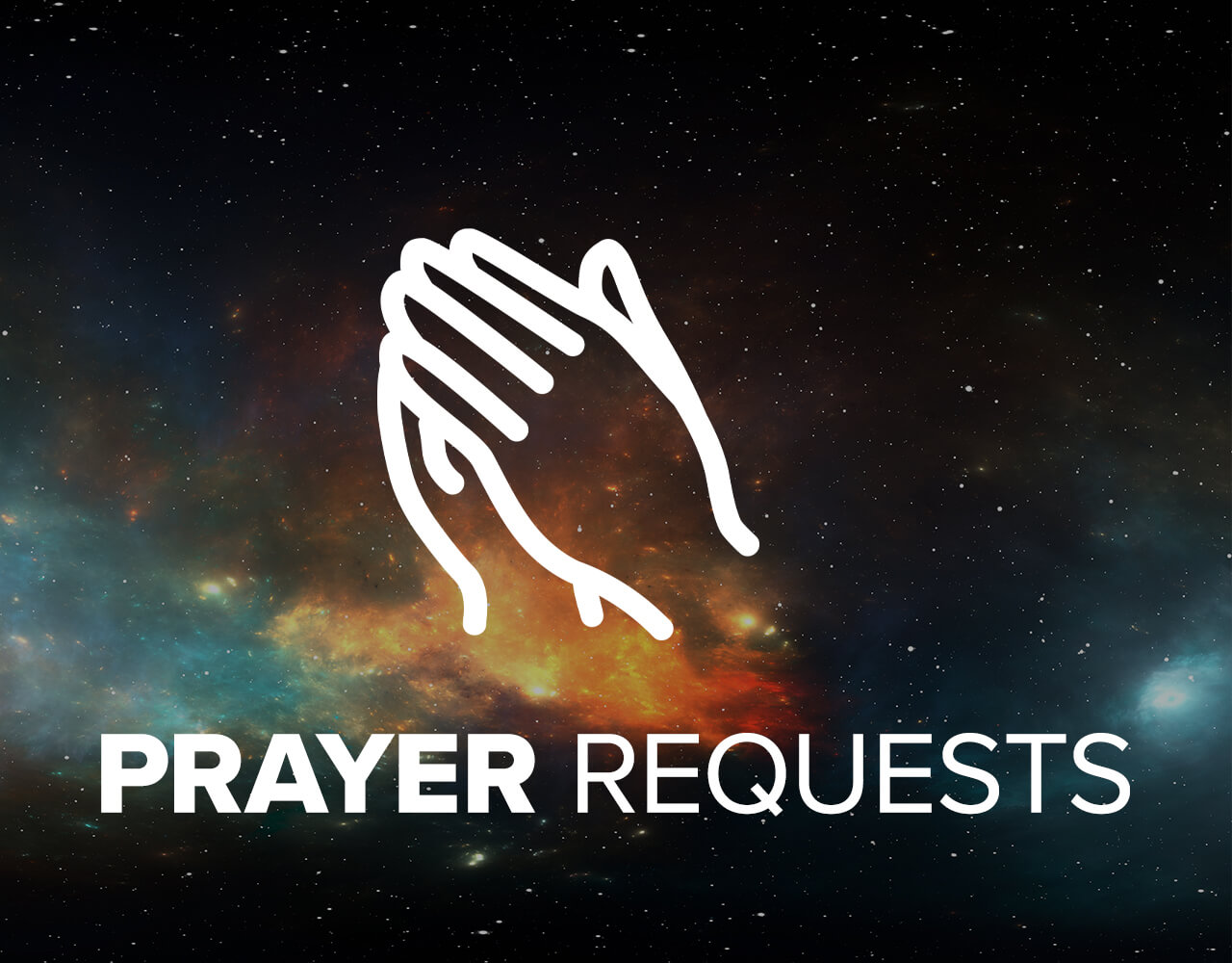 Share your prayer requests with us