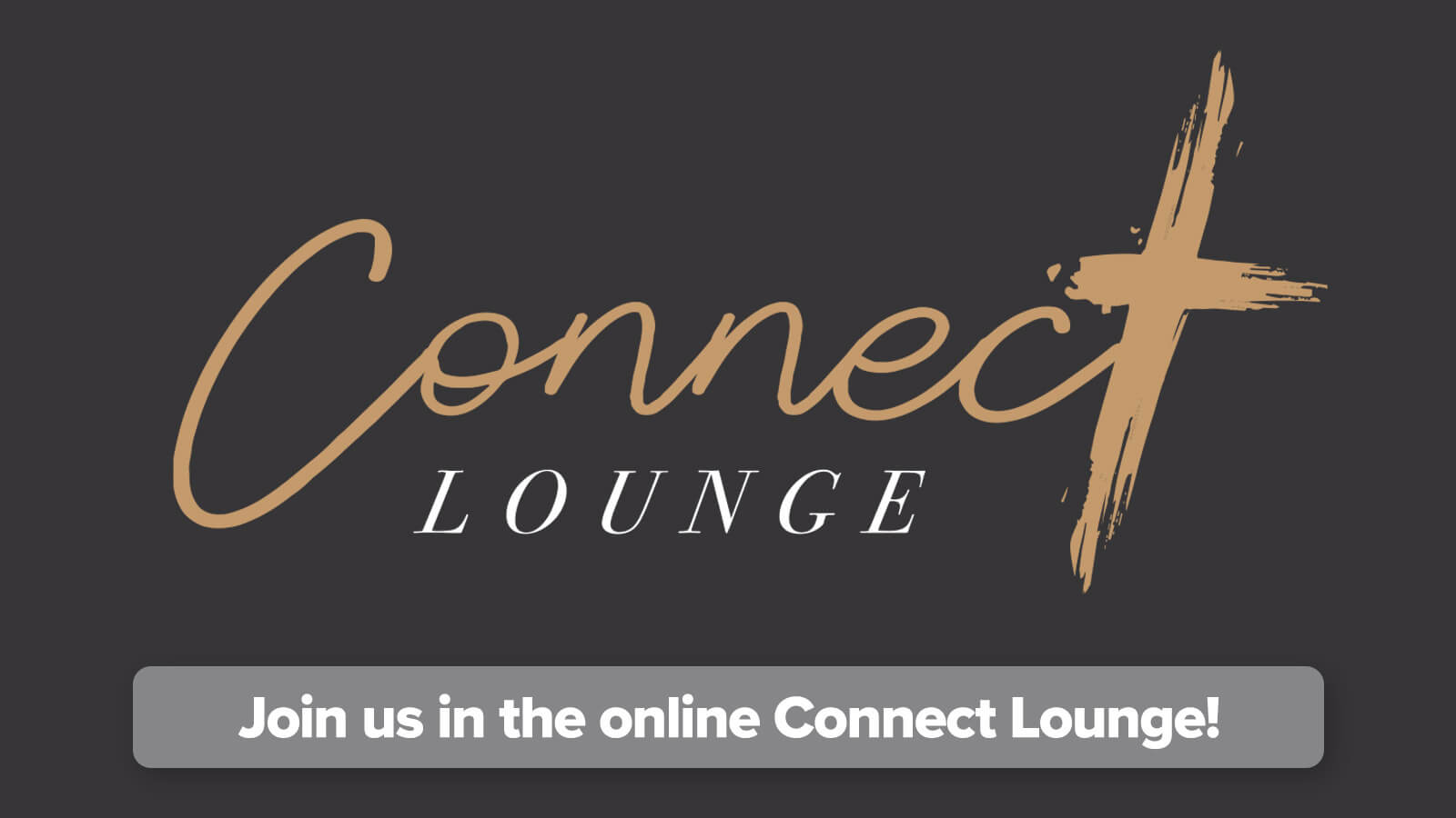 Are you new? Join us in our online Connect Lounge!