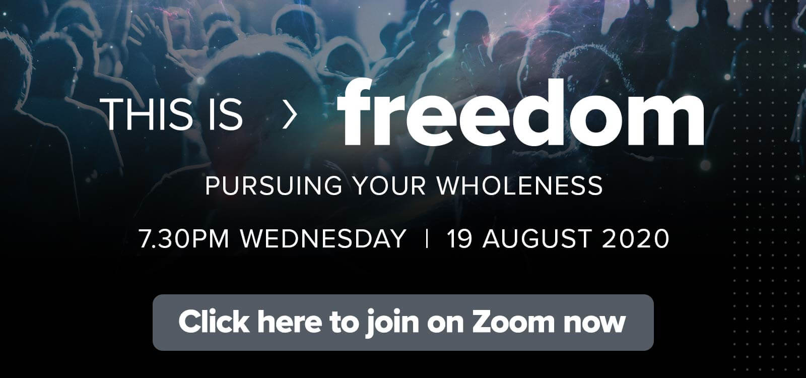 Find personal wholeness and healing at This is Freedom!