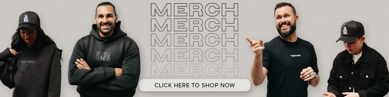 Get your limited edition merch at our Online Store!