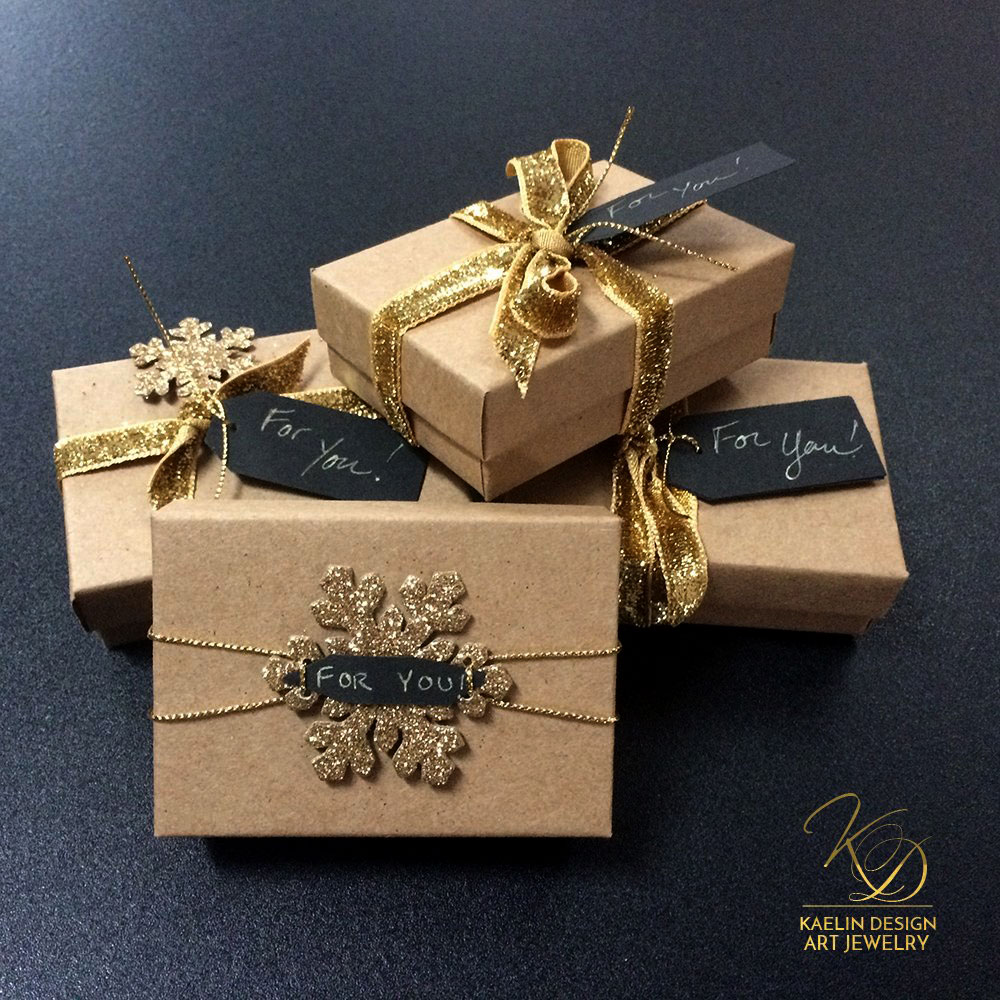 The Art of Packaging, Christmas Luxury Gift Wrapping by Kaelin Design