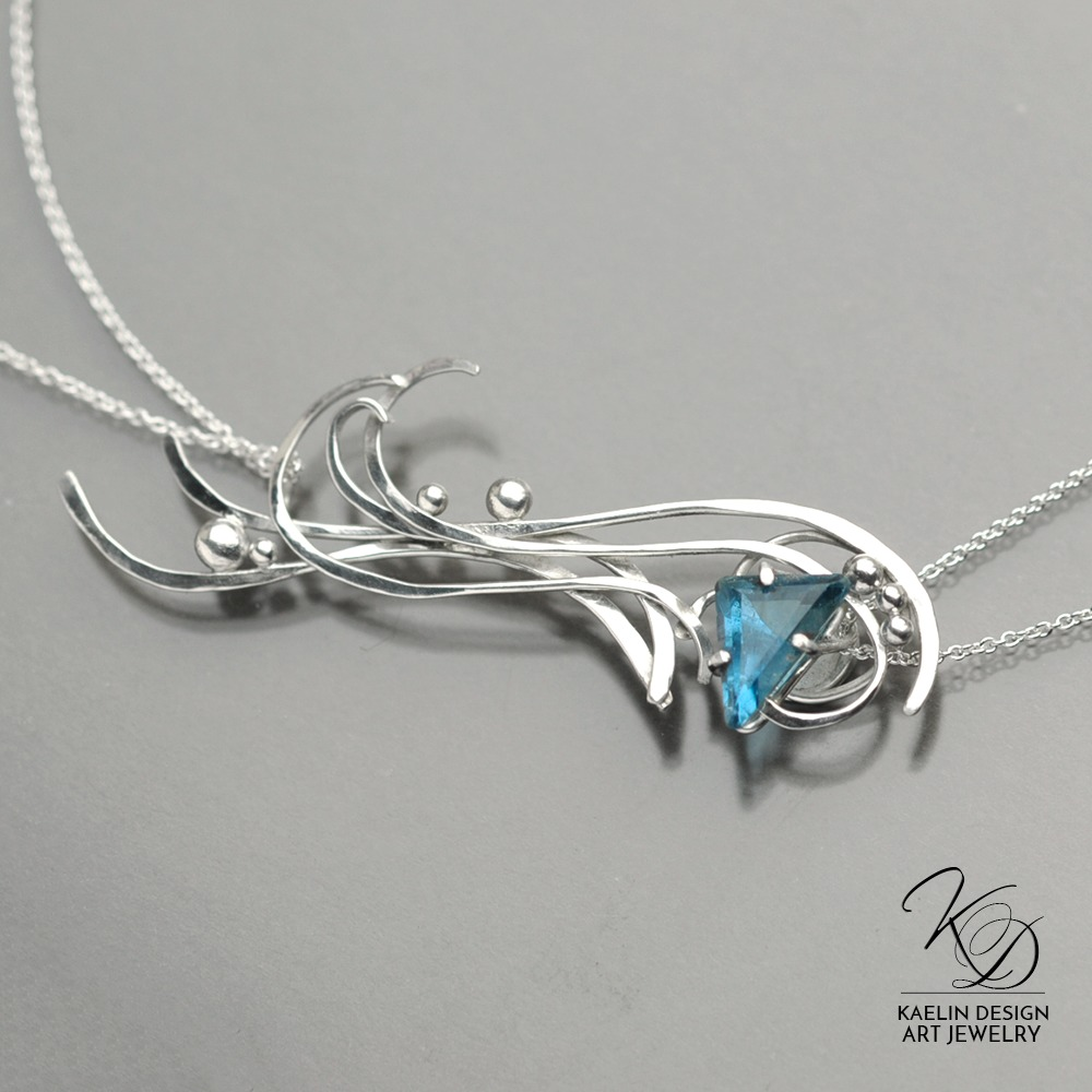 Turbulence Pendant, Jewelry Designed by Kaelin Design