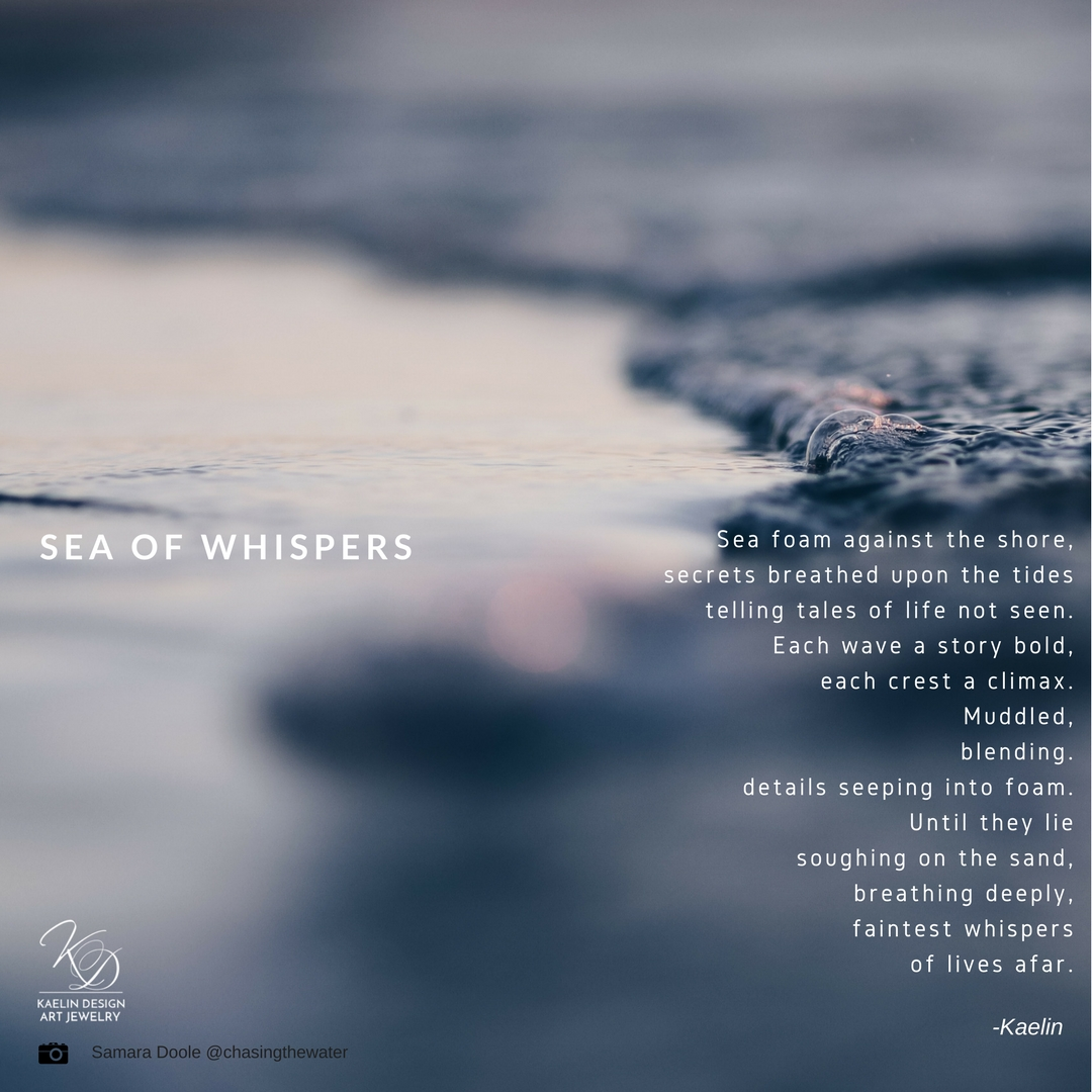 Sea of Whispers poem by Kaelin Design
