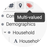 <b>Author</b> powerful analytical charts and dashboards with <b>drag and drop</b> features for any question instantly.