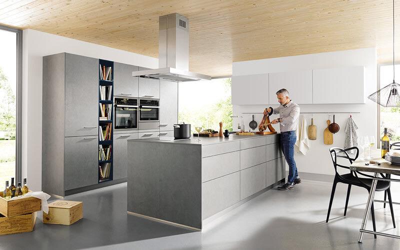 Keuken Met Betonblad : Betonlook keuken keukenstudio maassluis