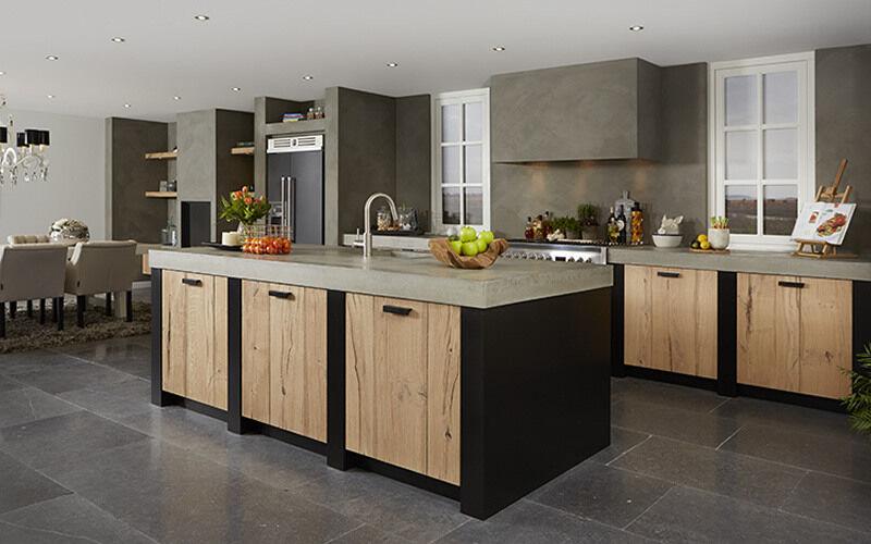 Vaak Betonlook keuken | Keukenstudio Maassluis &OS64
