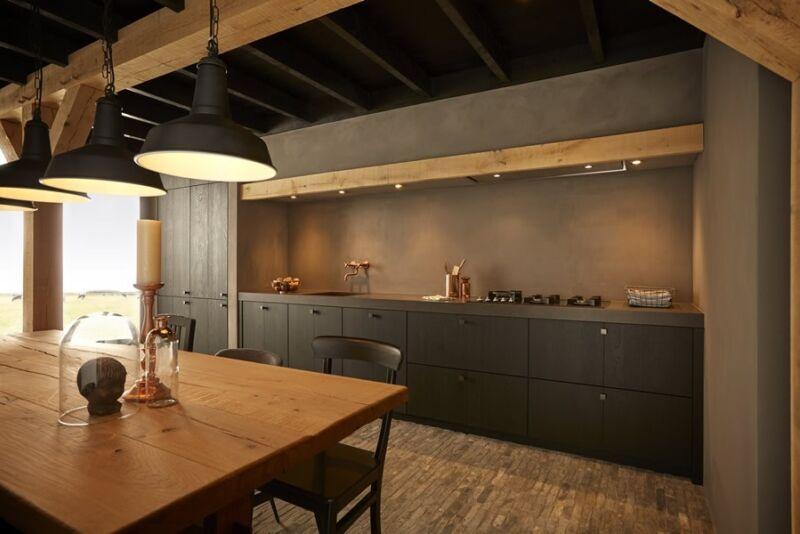 Keuken Van Hout : Zwarte keuken inspiratie keukenstudio maassluis