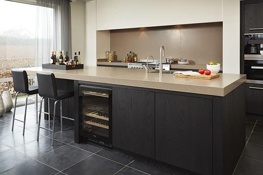 Iets Nieuws Zwarte Keuken Inspiratie | Keukenstudio Maassluis &LF91