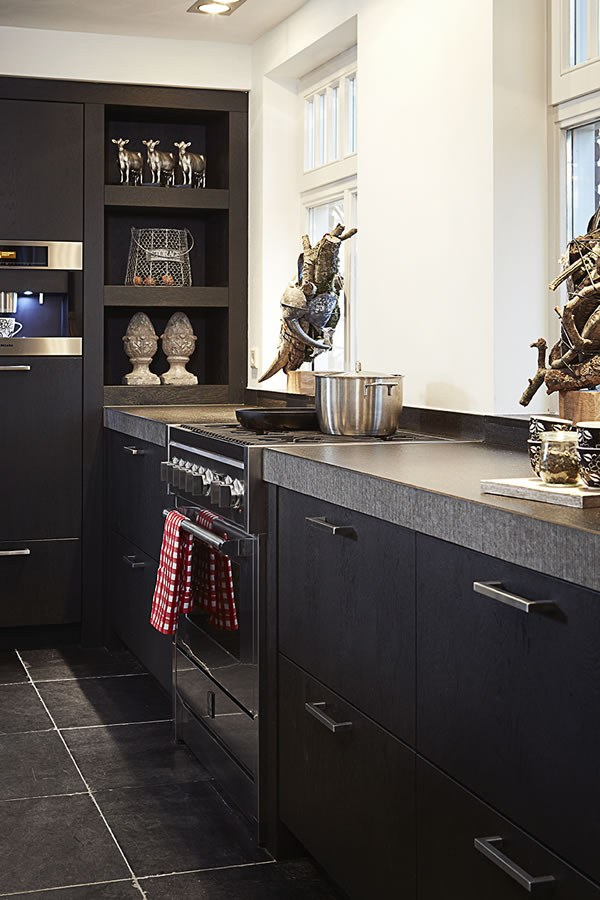 Zwarte Keuken Inspiratie Smartdesign Keukenstudio