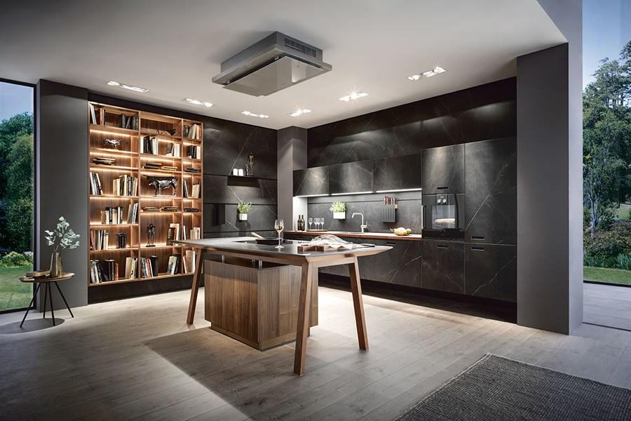 Marmer Zwart Keuken : Marmer keuken marmerlook in uw keuken keukenstudio maassluis