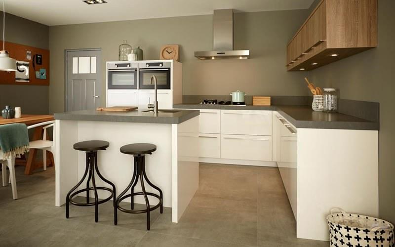 Kookeiland Ruimte Tussen : Keukeneiland luxe keuken eiland keukenstudio maassluis