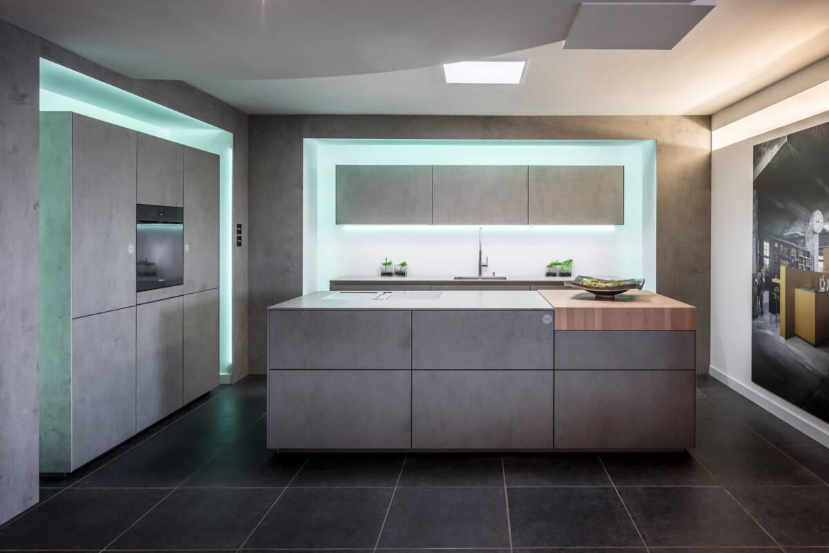 Next betonlook keuken keukenstudio maassluis
