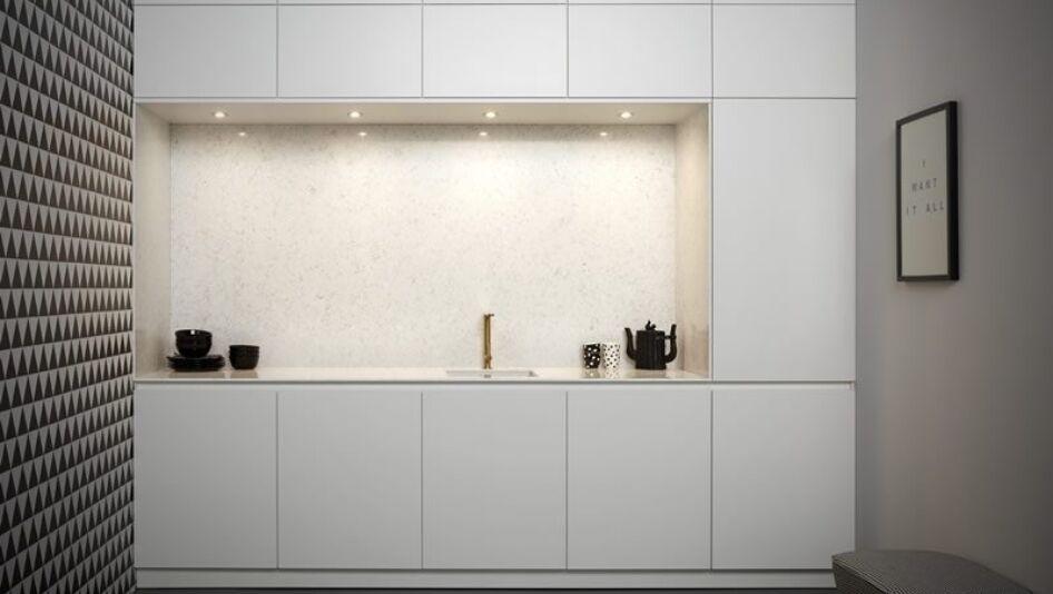 Greeploze Witte Keller Keuken | Keukenstudio Maassluis
