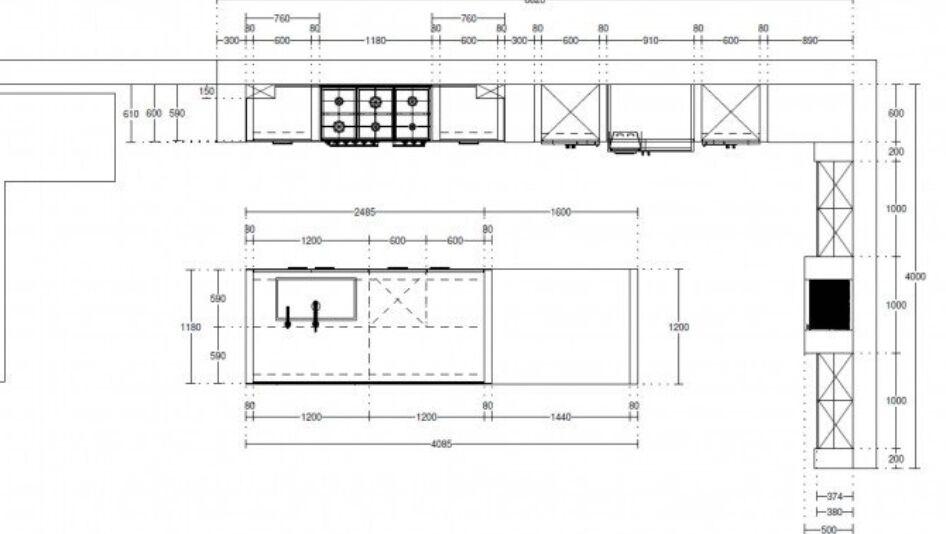 Hollands maatwerk jan keukenstudio maassluis for Keukenkast ontwerpen