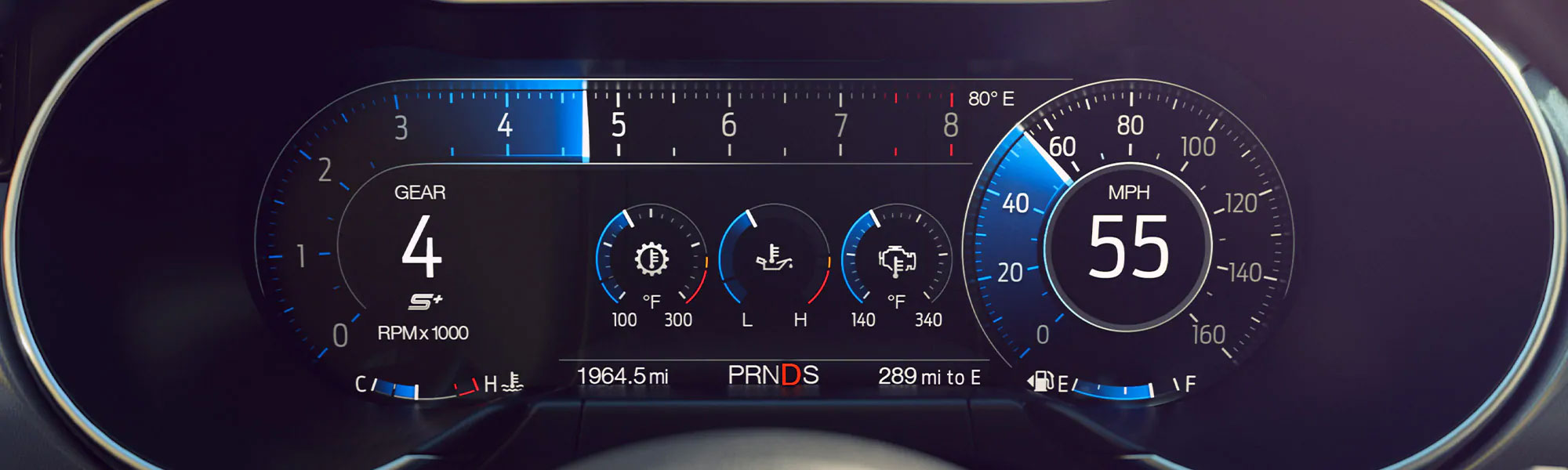 New Ford Mustang Dashboard