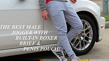 ALKIMOS: Multi-Purpose Men's Jogging Pants  ~ Kickbooster Campaign