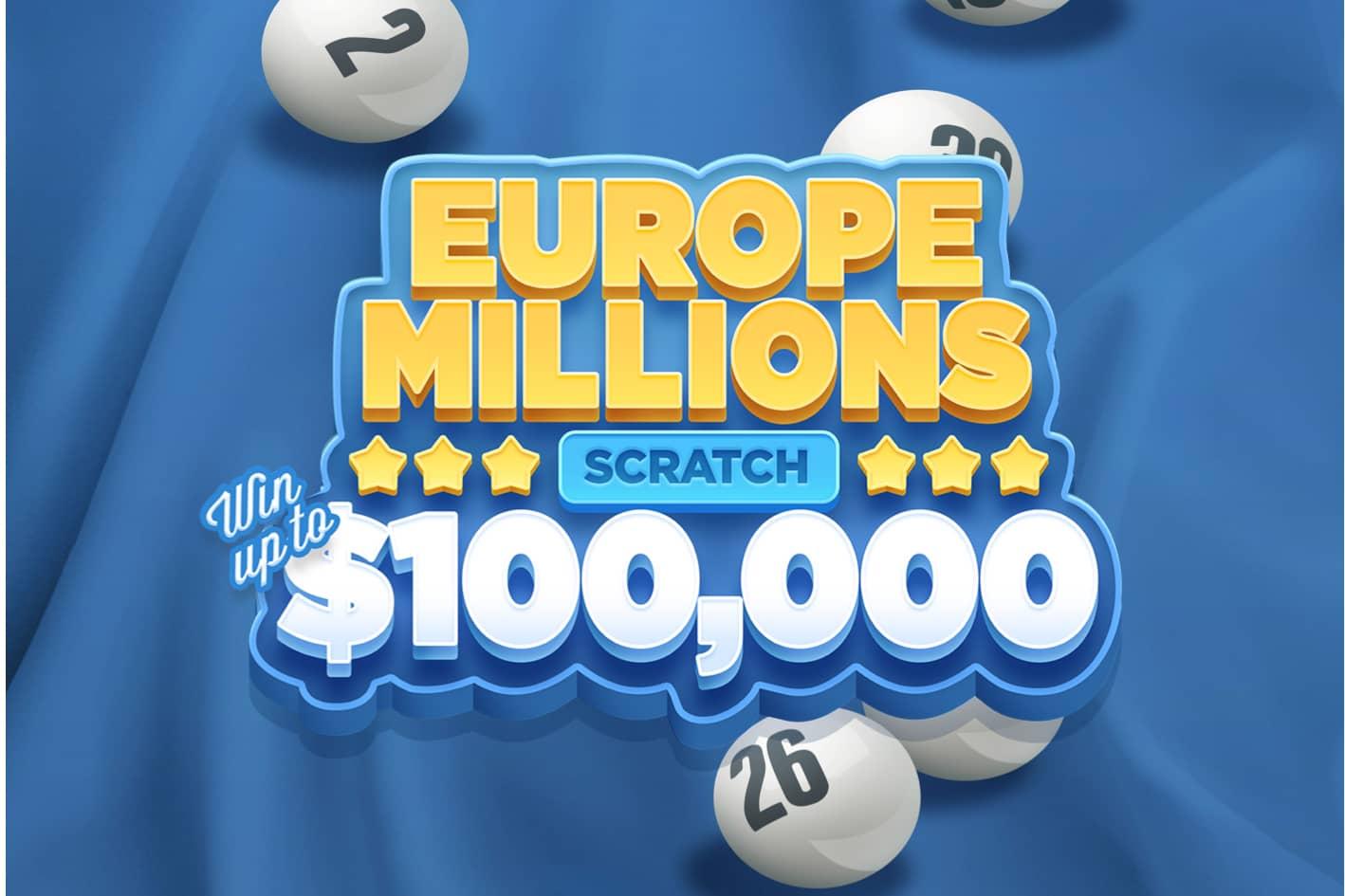 Europe Millions Scratch