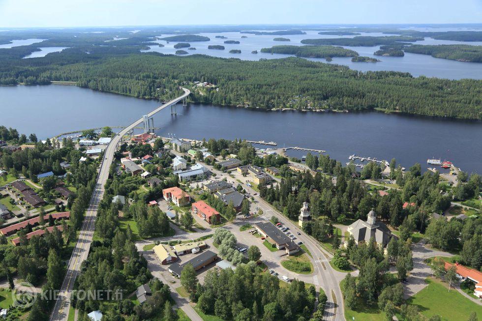 Omakotitalotontti Puumalan Kotiniemessä, Tölppäänniementie 9. Tontti 7, kortteli 225.