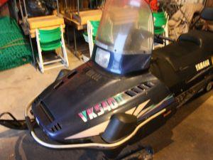 Yamaha VK540 II - moottorikelkka