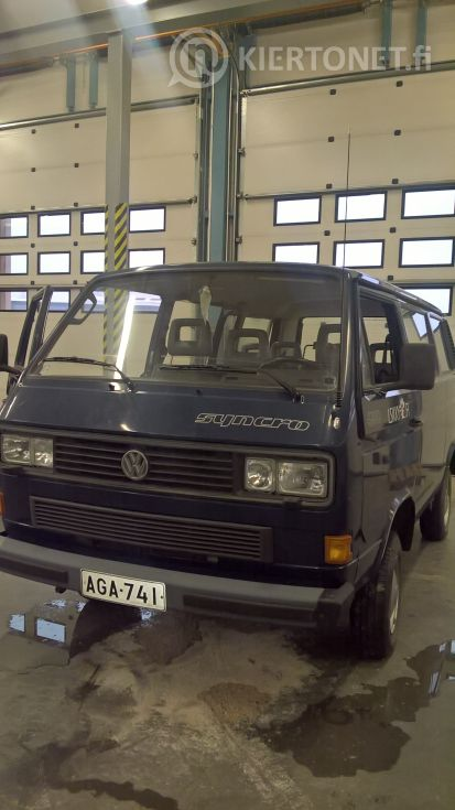 WV Caravelle Syncro