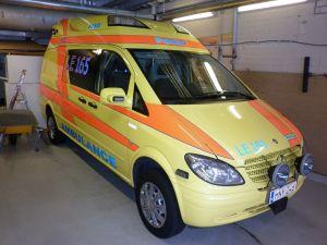 Ambulanssi Mercedes-Benz Vito 115 CDI