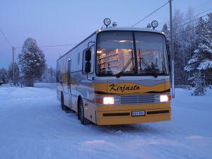 Kirjastoauto Scania L 113  vm. 1995