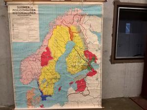 Suomen ja Pohjoismaiden historiallinen koulukartta