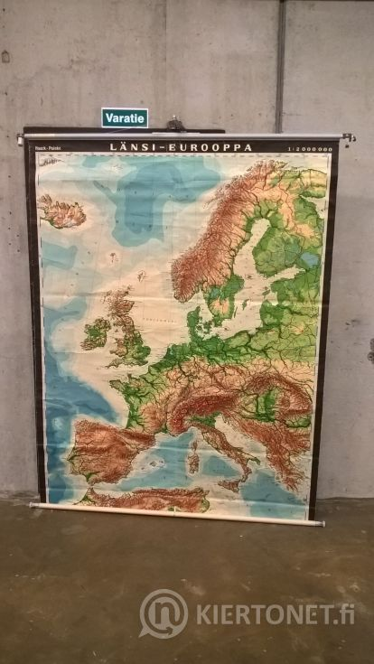 Vanha koulukartta nro 3