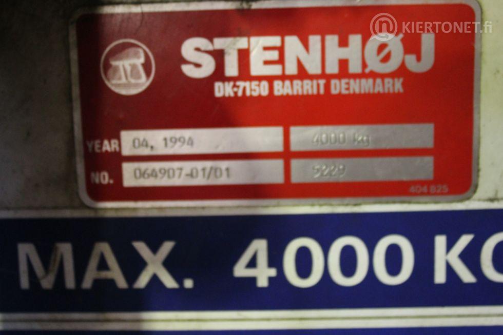 Nelipilarinosturi STENHOJ MAJOR 4000 kg