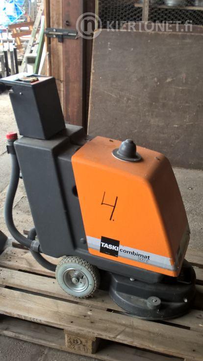 Siivouskone nro 4 - Taski