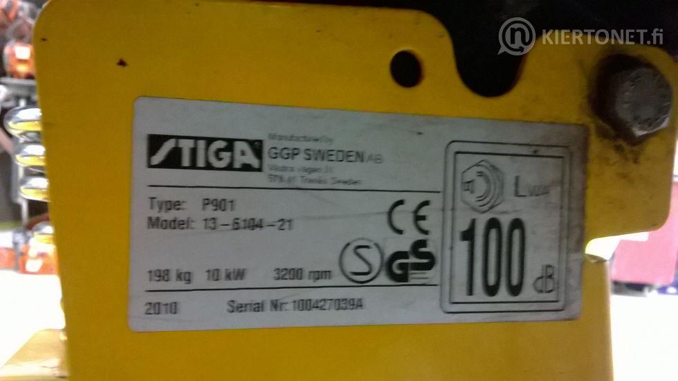 Stiga Park Compact 16 4WD -etuleikkuri