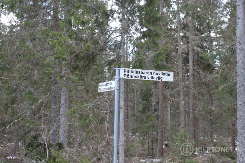 Rantatontti Rönnskäretin saarella Kaskisissa